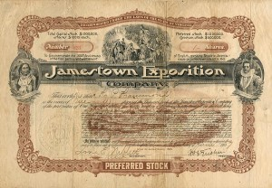 Jamestown Exposition - SOLD