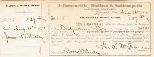 Jeffersonville, Madison & Indianapolis Railroad Company