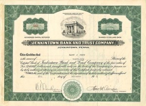 Jenkintown Bank and Trust Company