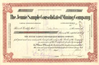 Jennie Sample Consolidated Mining Company