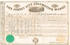 Jersey City Locomotive Works - SOLD