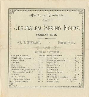 Jerusalem Spring House Brochure - SOLD