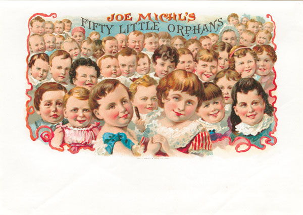 Joe Michl's Fifty Little Orphans