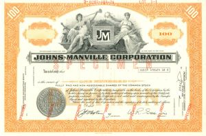 Johns-Manville Corporation - SOLD