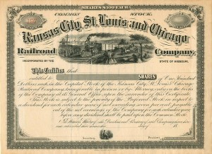 Kansas City, St. Louis and Chicago Railroad Company