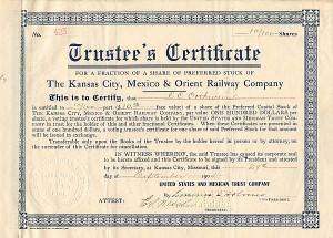 Kansas City, Mexico & Orient Railway Company