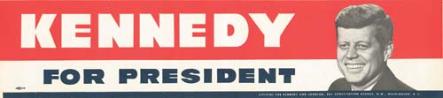 President Kennedy Bumper Sticker