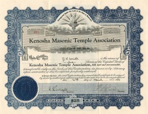Kenosha Masonic Temple Association - SOLD