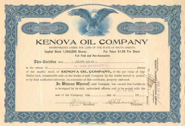 Kenova Oil Company