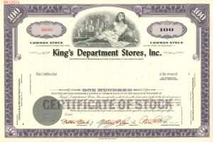 King's Department Stores, Inc.