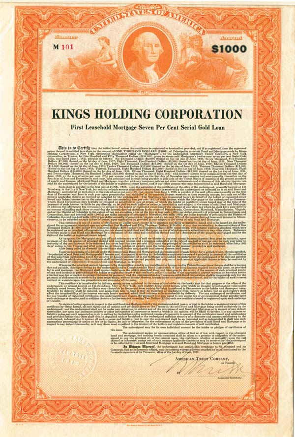 Kings Holding Corporation