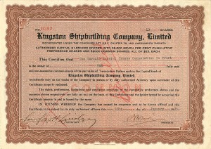 Kingston Shipbuilding Company, Limited
