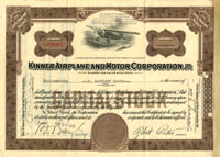 Kinner Airplane and Motor Corporation