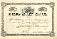 Kinzua Valley R.R. Co. - SOLD