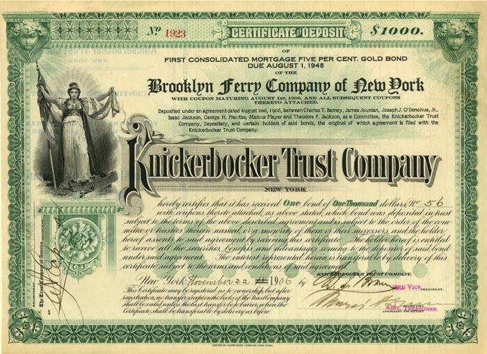 Knickerbocker Trust Company
