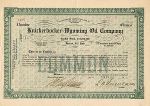 Knickerbocker-Wyoming Oil Company