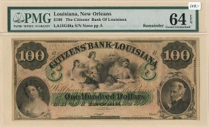 Citizens' Bank of Louisiana - SOLD
