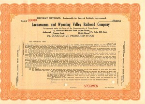 Lackawanna and Wyoming Valley Railroad Company