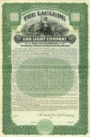 Laclede Gas Light Company - SOLD