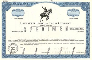 Lafayette Bank and Trust Company - SOLD