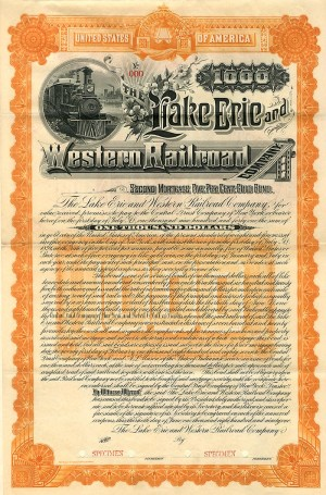 Lake Erie and Western Railroad Company