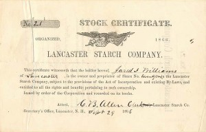 Lancaster Starch Company