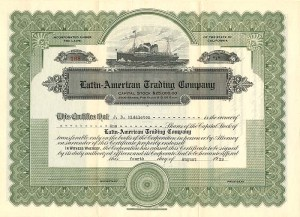 Latin-American Trading Company - SOLD