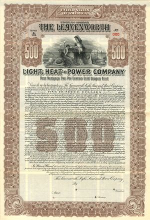 Leavenworth Light, Heat, and Power Company