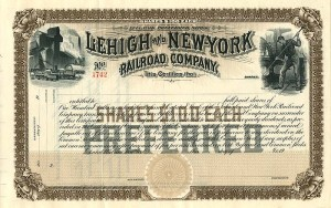 Lehigh and New York Railroad Company