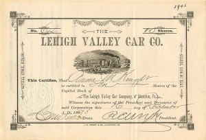 Lehigh Valley Car Co. - SOLD