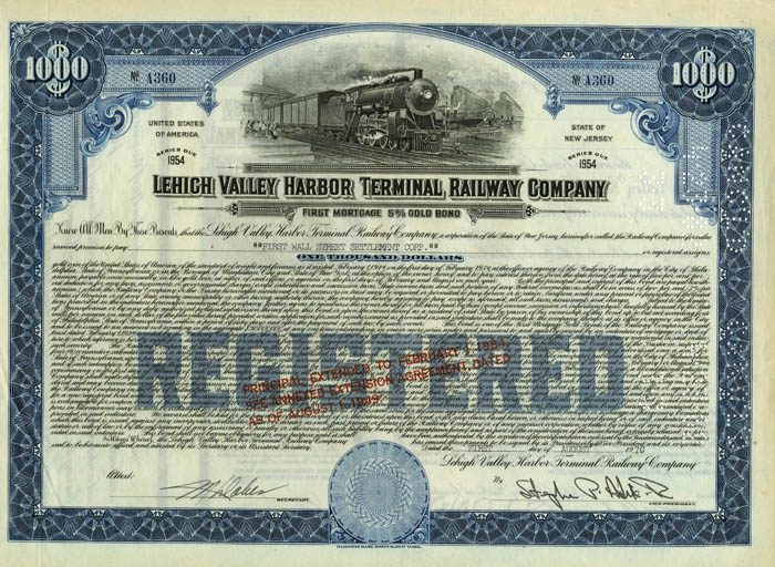 Lehigh Valley Harbor Terminal Railway Company