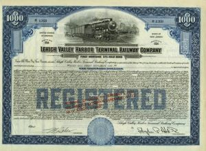 Lehigh Valley Harbor Terminal Railway Company