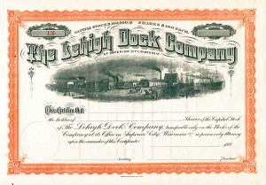 Lehigh Dock Company of Superior City Wisconsin