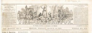 The Liberator - William Lloyd Garrison, Editor - SOLD