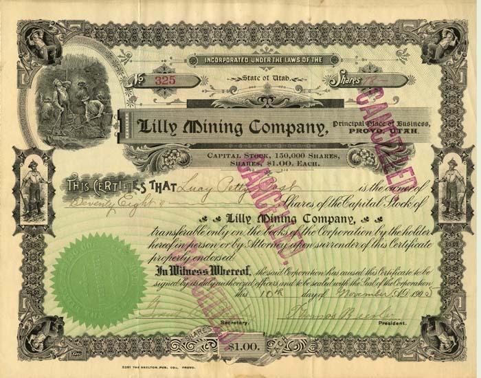 Lilly Mining Company