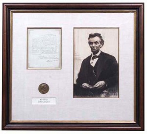 Abraham Lincoln Signed Draft Call - SOLD