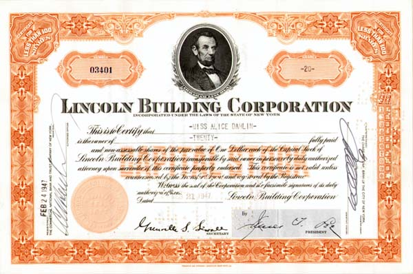 Lincoln Building Corp