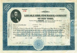 Lincoln Fire Insurance Company of New York - SOLD