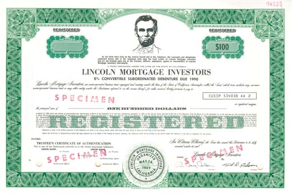 Lincoln Mortgage Investors