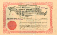 Little Cut Diamond Consolidated Gold Mining Co.