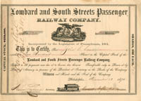Lombard and South Streets Passenger Railway Company