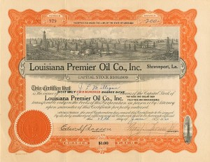 Louisiana Premier Oil Co., Inc. - SOLD