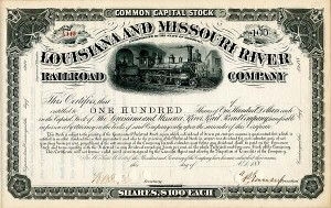 Louisiana and Missouri River Railroad Company