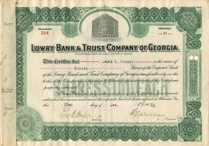 Lowry Bank & Trust Company of Georgia