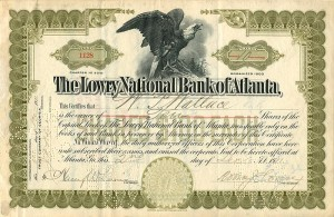 Lowry National Bank of Atlanta - SOLD