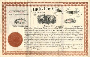 Lucky Boy Mining Company - SOLD