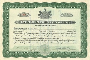 Lycoming Trust Company
