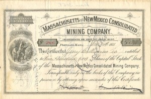 Massachusetts and New Mexico Consolidated Mining Company