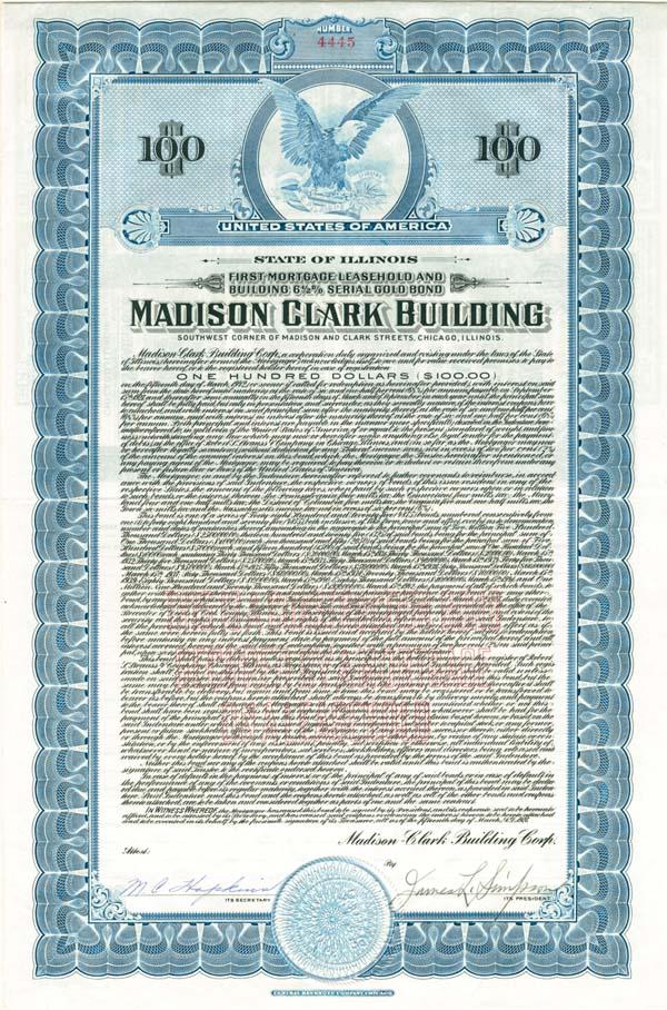 Madison Clark Building - Bond