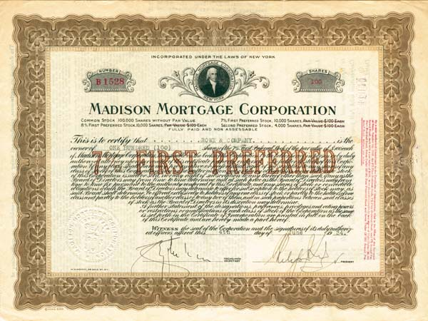 Madison Mortgage Corporation